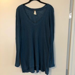 Free People Tunic Long Sleeve Top